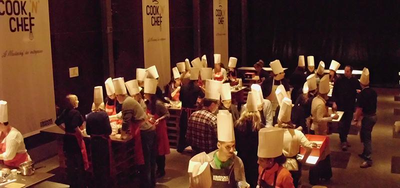 Sortie d'entreprise concours cuisine