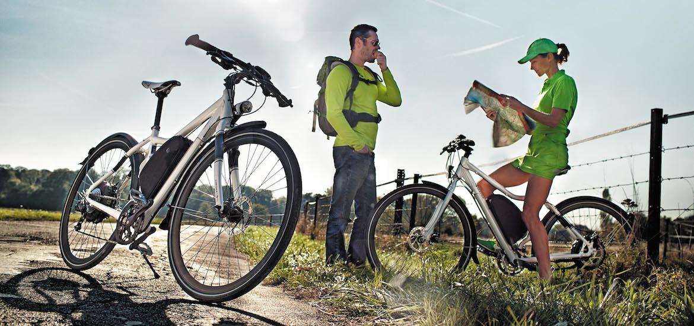 sortie entreprise jeu de piste vélo électrique